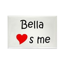 Funny Bella Rectangle Magnet