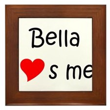 Unique Bella Framed Tile