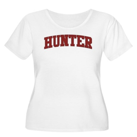 HUNTER Design Women's Plus Size Scoop Neck T-Shirt