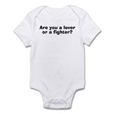 Are You A Lover Or A Fighter? Infant Creeper