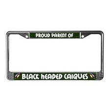 Proud Parent Multi BH Caique License Plate Frame