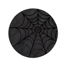 "Spider Web 3.5"" Button (100 pack)"