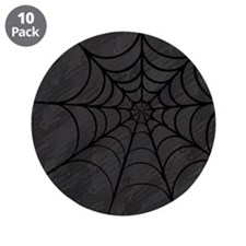 "Spider Web 3.5"" Button (10 pack)"