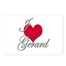 I love (heart) Gerard Postcards (Package of 8)
