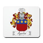 Agostini Family Crest Mousepad