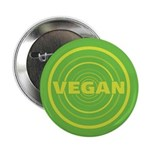 2.25 inch Green Vegan Button