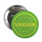 2.25 inch Green Vegan Button (10 pack)