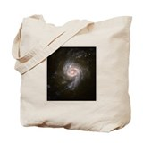 NGC Starburst Galaxy Tote Bag