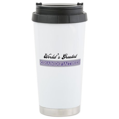 World's Greatest Grandfather Ceramic Travel Mug