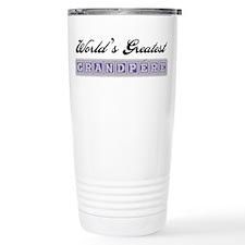 World's Greatest Grandpere Ceramic Travel Mug