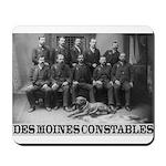 Des Moines Constables Mousepad