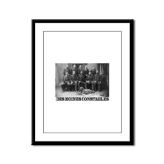 Des Moines Constables Framed Panel Print