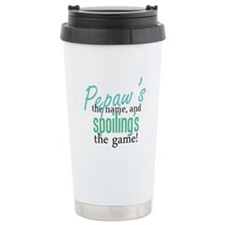 Pepaw's the Name! Ceramic Travel Mug