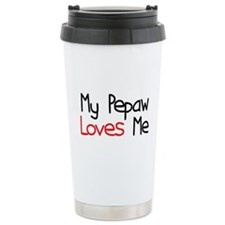 My Pepaw Loves Me Ceramic Travel Mug