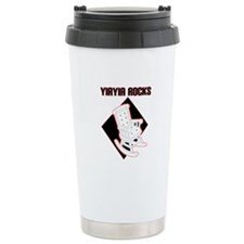 YiaYia Rocks Ceramic Travel Mug