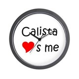 Calista Wall Clock