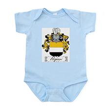 Alighieri Family Crest Infant Creeper