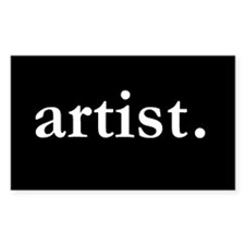 Artist Rectangle Sticker 10 pk)