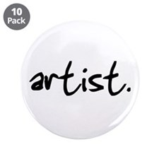 "Artist 3.5"" Button (10 pack)"