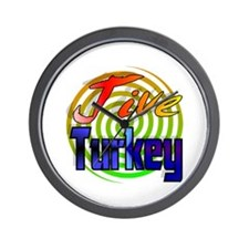Jive Turkey Wall Clock