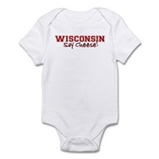Wisconsin Say Cheese Infant Bodysuit