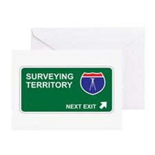 Surveying Territory Greeting Cards (Pk of 20)