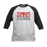 Zombies ate my homework Tee