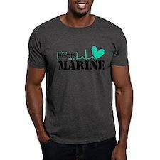 It Beats For My Marine T-Shirt