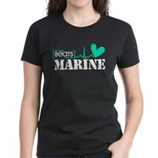 It Beats For My Marine Tee