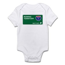 Rowing Territory Infant Bodysuit