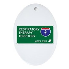 Respiratory, Therapy Territory Oval Ornament