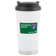 QA Engineering Territory Ceramic Travel Mug