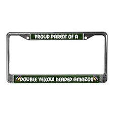 Proud Parent DYH Amazon License Plate Frame