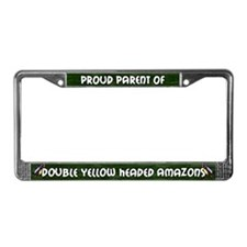 Proud Parent Multi DYH Amazon License Plate Frame