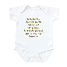 Cute Bible women Infant Bodysuit