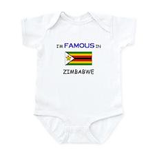 I'd Famous In ZIMBABWE Infant Bodysuit