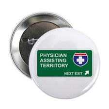 "Physician, Assisting Territory 2.25"" Button"