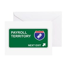 Payroll Territory Greeting Card