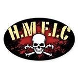 H.M.F.I.C. Oval Decal
