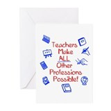 Preschool teacher Greeting Cards (Pk of 20)