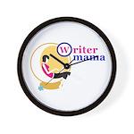 Writer Mama Wall Clock
