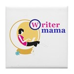 Writer Mama Tile Coaster