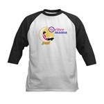 Writer Mama Kids Baseball Jersey