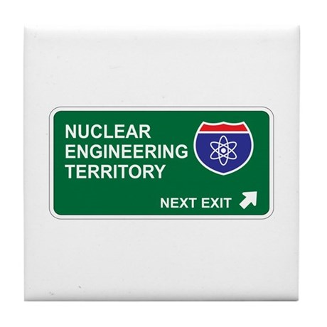 Nuclear, Engineering Territory Tile Coaster