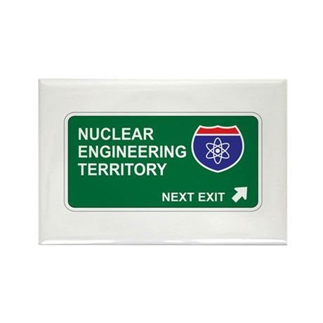 Nuclear, Engineering Territory Rectangle Magnet (1