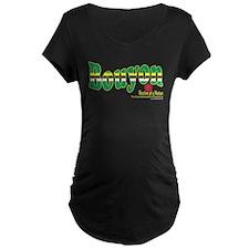 bouyondomforblackshirt Maternity T-Shirt