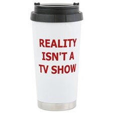 Reality TV Ceramic Travel Mug