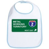 Metal, Working Territory Bib