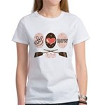 Peace Love Row Crew Women's T-Shirt