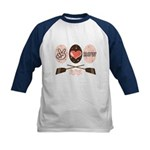 Peace Love Row Crew Kids Baseball Jersey